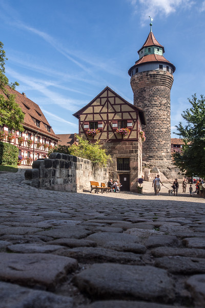 Nürnberg Castle Tower, Germany