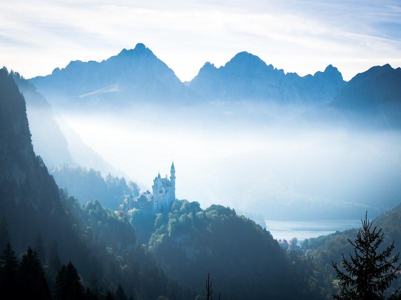 Bavarian Legends, Neuschwanstein Castle, Germany