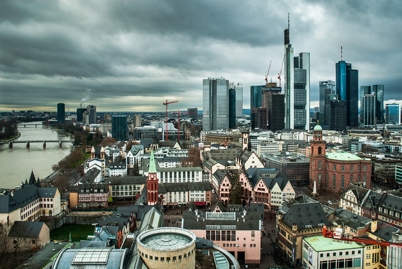 Frankfurt in the Gray, Germany