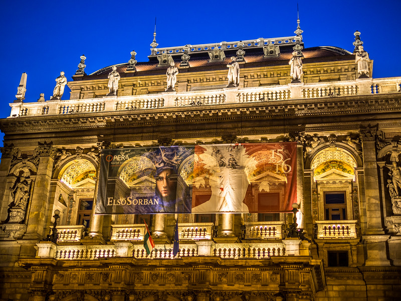 Night at the Opera, Budapest, Hungary