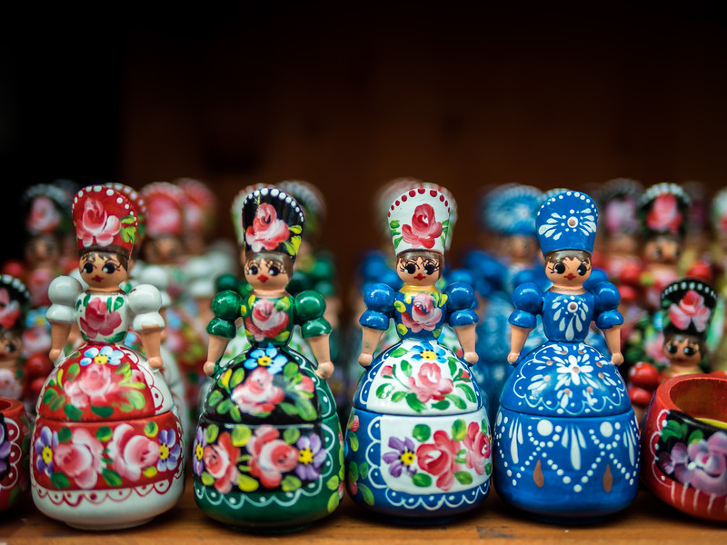 Traditional Figurines, Szentendre, Hungary