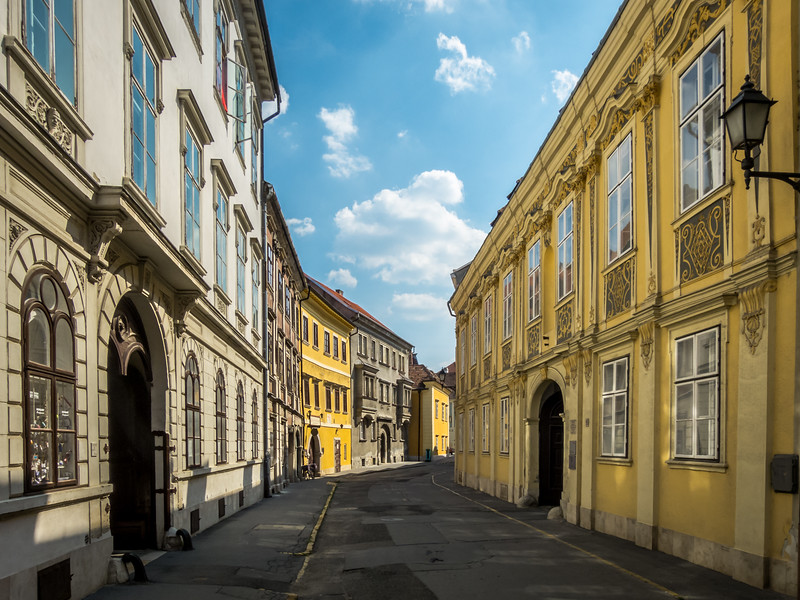 Street Through Time, Sopron, Hungary