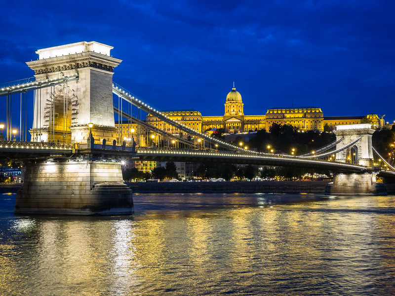 The Bridge and the Castle, Budapest, Hungary