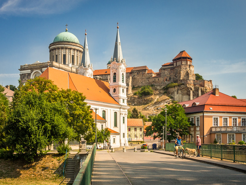 Esztergom Church and Basilica, Hungary