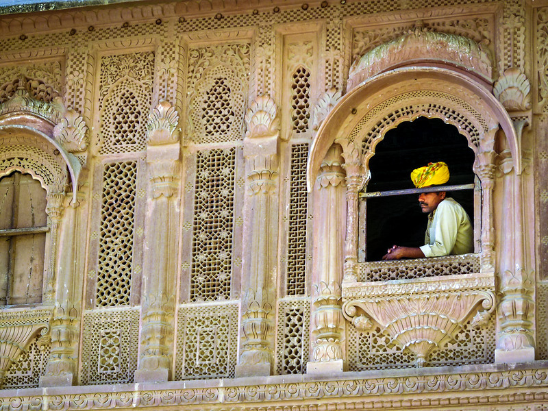 Turban Envy, Mehrangarh, Jodhpur, India