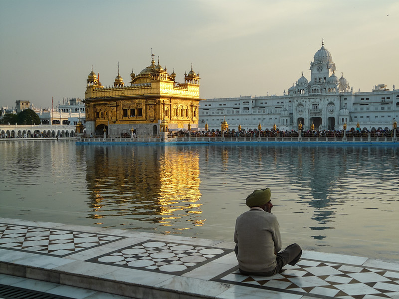 Marble Meditation, Golden Temple, Amritsar, India