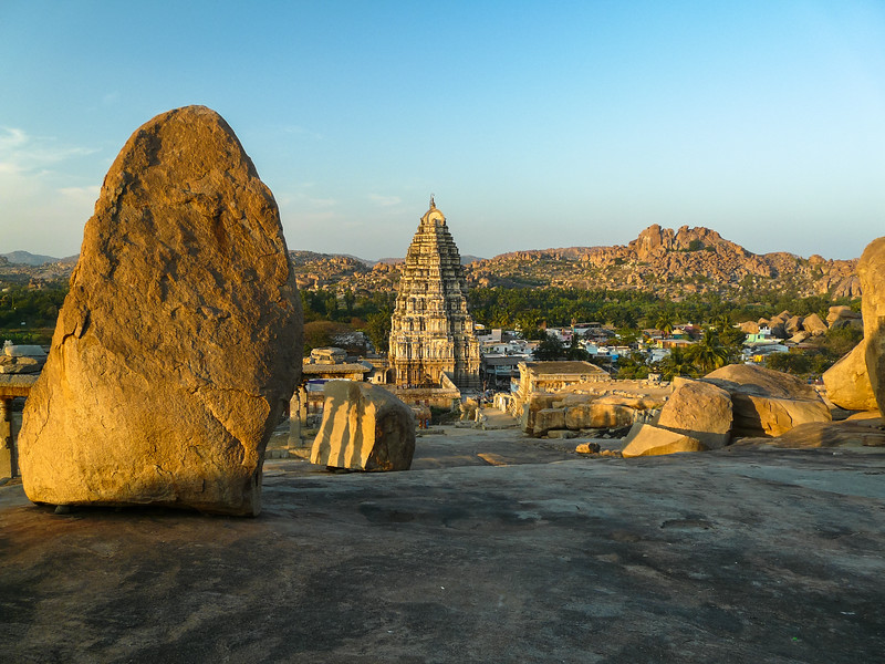 Sunset Over Hampi, India