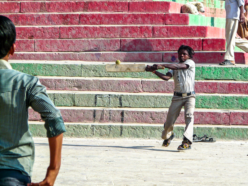 Home Run...or whatever, Varanasi