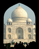 Taj Mahal thru the Arch, Agra, India