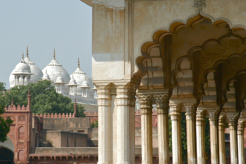 King's Court, Red Fort, Agra, India