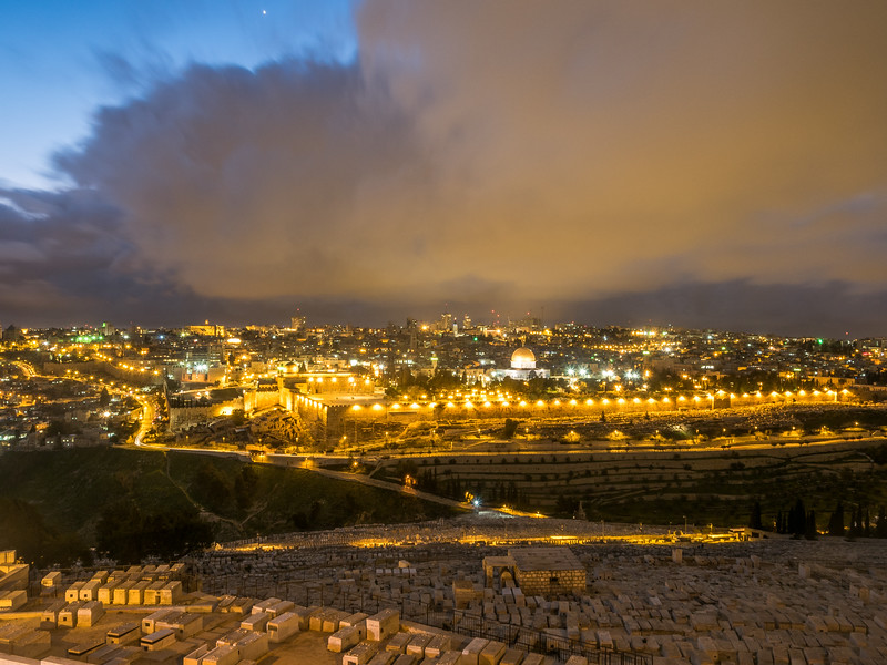 Fire over Jerusalem