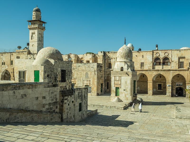 Sabil of Qaitbay at the Haram esh-Sharif, Jerusalem