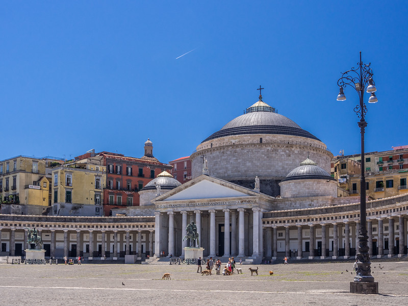 Basilica Reale San Francesco di Paola, Naples, Italy