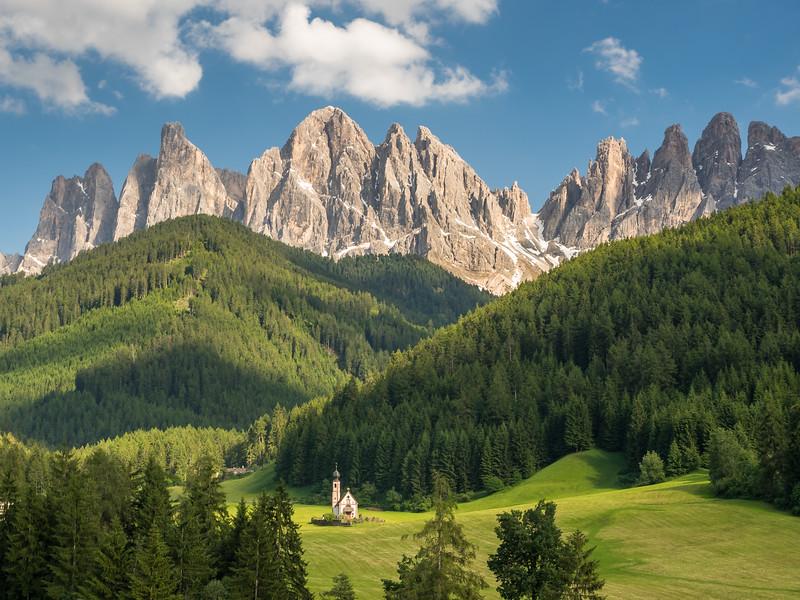 Alpine Church, Villnöß, Italy