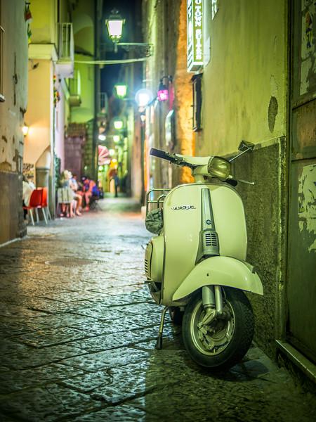 Alleyway Parking, Sorrento, Italy
