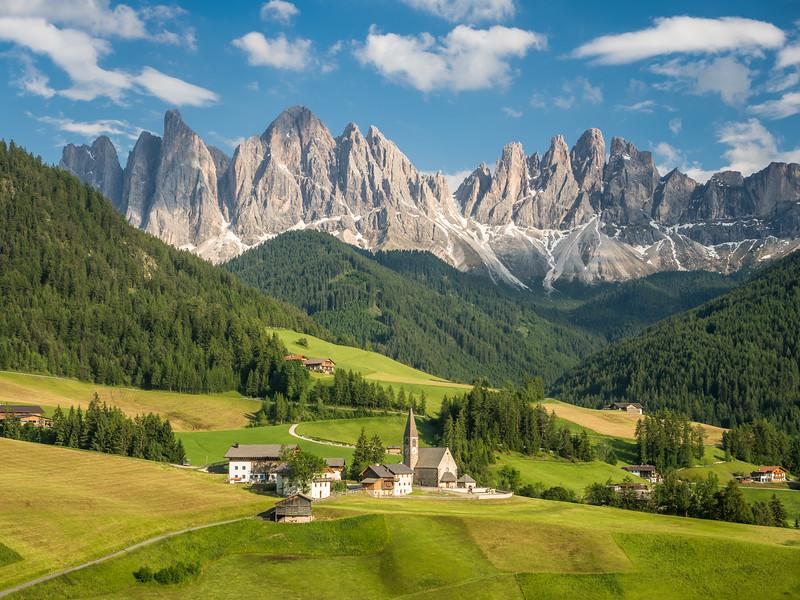 South Tyrolean Idyll, Villnöß, Italy