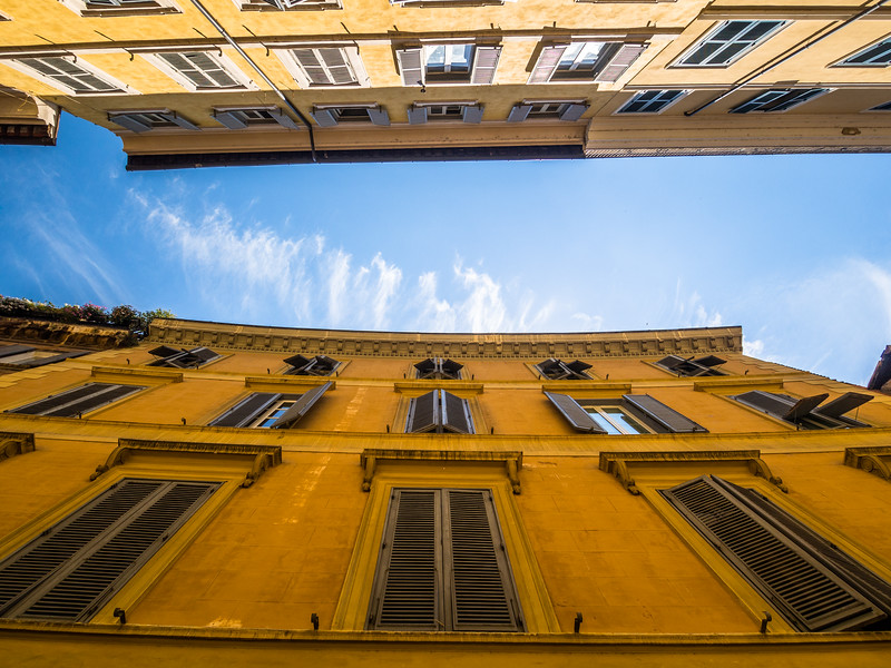 Looking Up, Rome, Italy