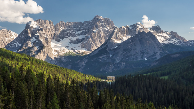 Misurina and the Mountains, Italy