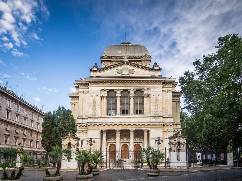 Ghetto Synagogue, Rome, Italy