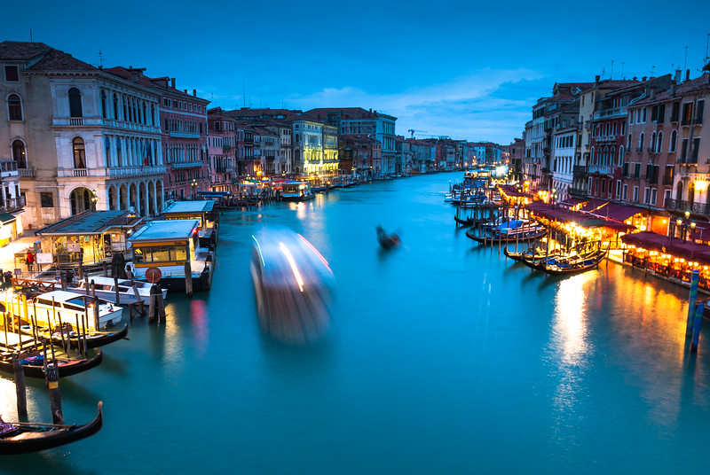 Evening on the Grand Canal, Venice
