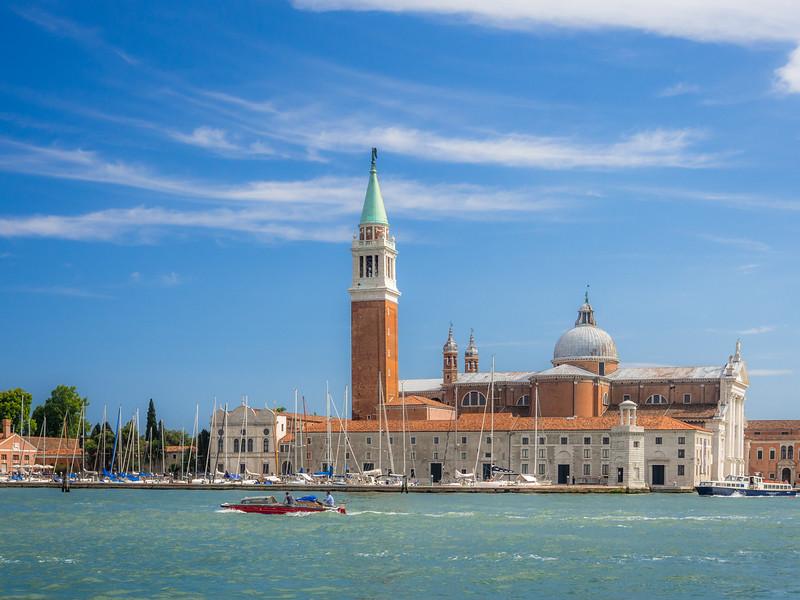 Blue Sky over San Giorgio Maggiore, Venice, Italy
