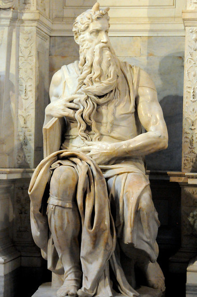 Michelangelo's Moses (San Pietro in Vincoli in Rome)
