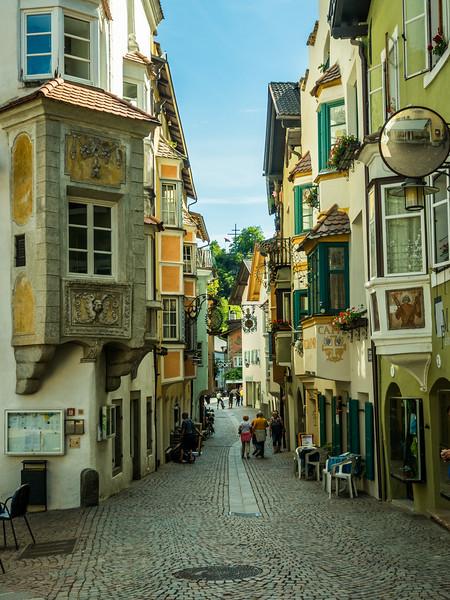 Chiusa Street Scene, Italy