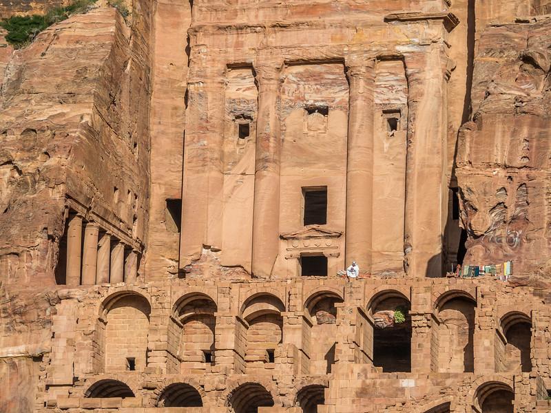 Cliffside Salesman, Petra, Jordan