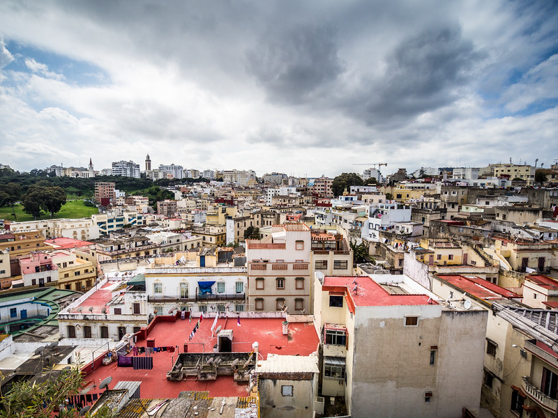 Tangiers from the Rooftops, Morocco