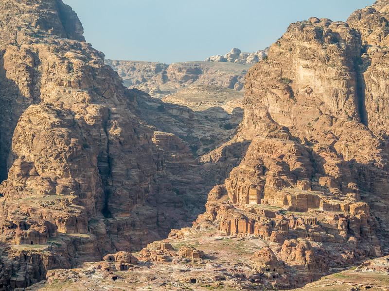 Distant Tombs, Petra, Jordan