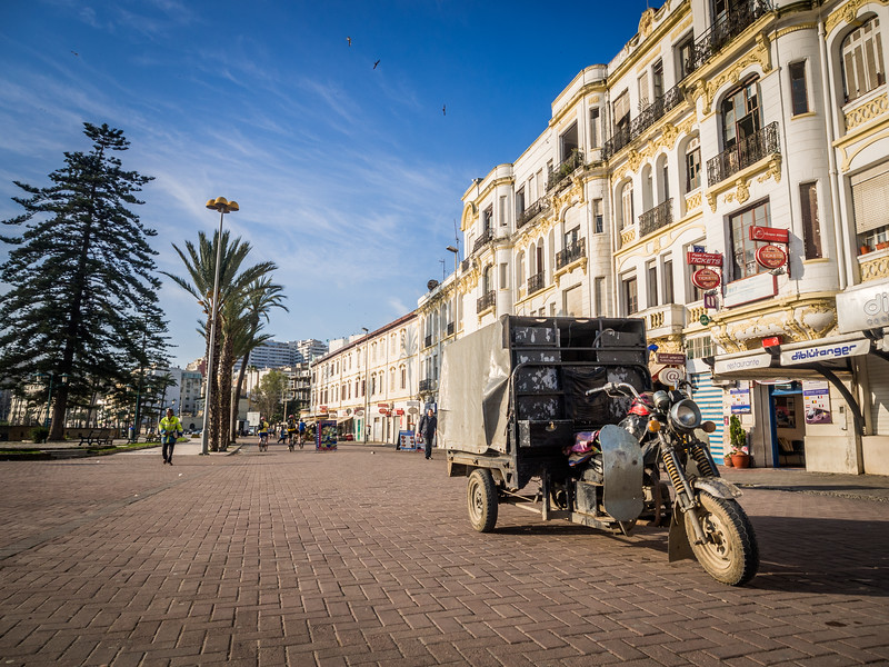 Motorbike Deliveries, Tangiers, Morocco