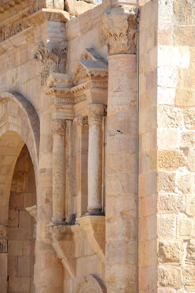 Hadrian's Gate Ruins, Jerash, Jordan