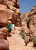 The Climb to the Monastery, Petra, Jordan