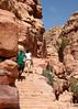 The Climb to the Monastery, Petra, Jordan