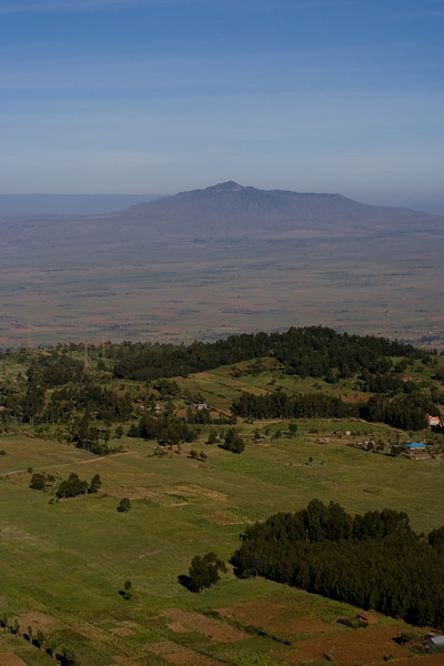 Mount Longonot, taken from the Escarpment on the eastern side of the Rift Valley.