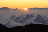 Sunrise over Mount Haleakala - Maui