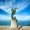 Puerto Vallarta - statues.