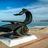 Puerto Valllarta - statues.