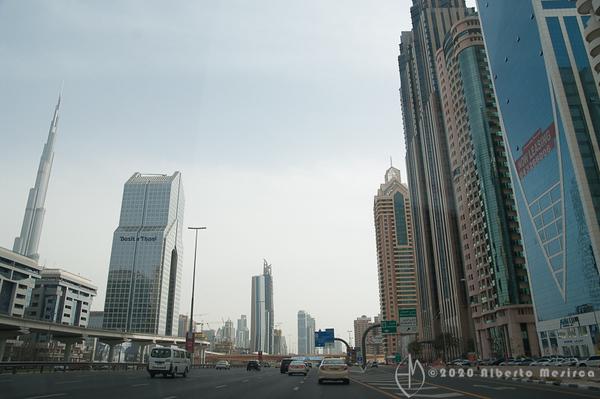 driving in Dubai #1