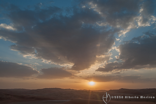 sunset dunes #3