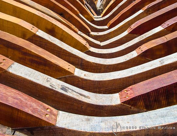 wood symphony - dhow ribs #4