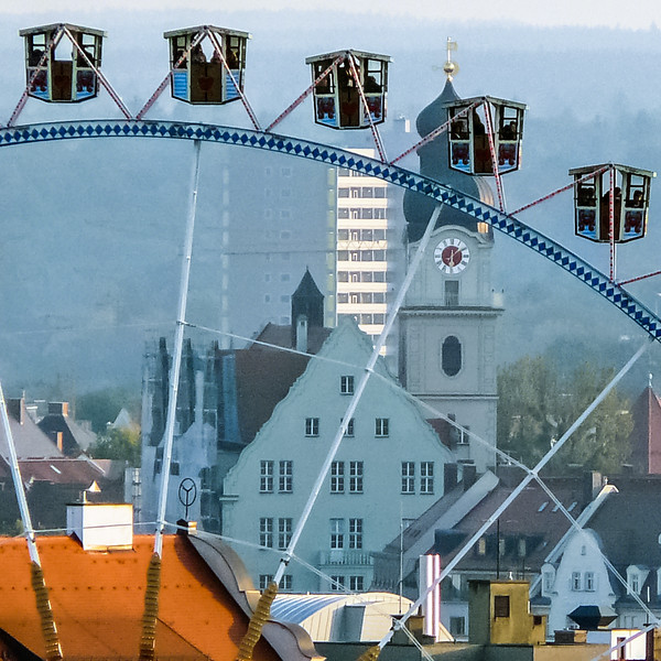 Ferris Wheel View, Oktoberfest, Munich