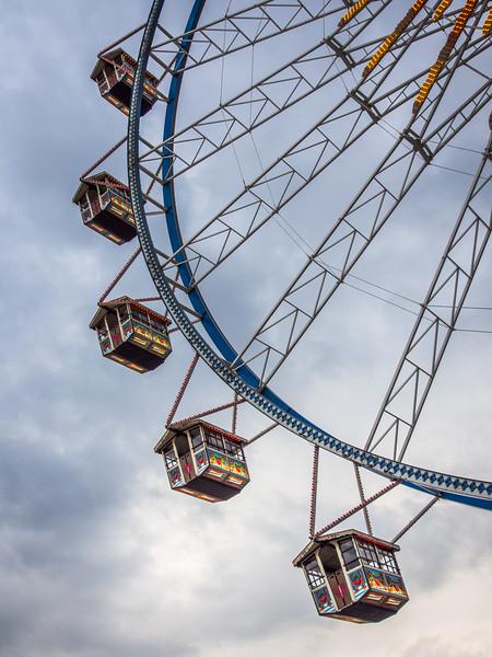 Ferris Wheel Carriages at Frühlingsfest, Munich