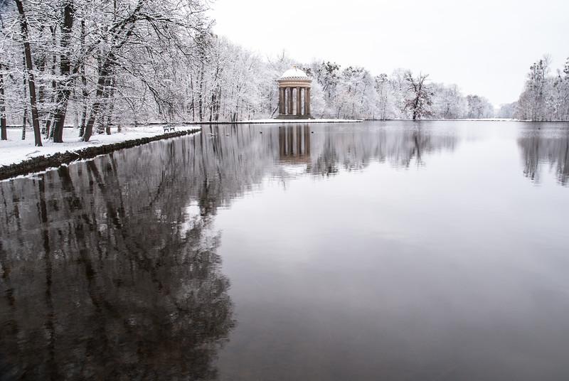 Frozen Idyll, Nymphenburg, Munich, Germany