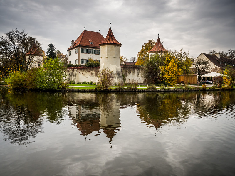 Autumn on Schloss Blutenburg, Munich, Germany