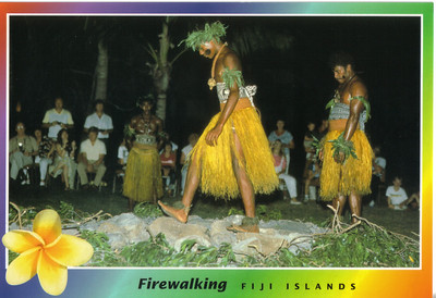 022_ The art of firewalking, or walking on red-hot embers or stones