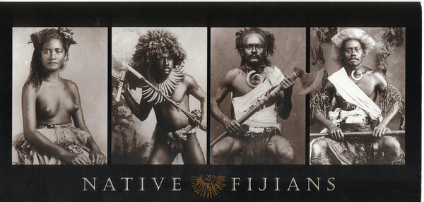 011_Fijian Natives in early 1800's  Originally from Melanesia