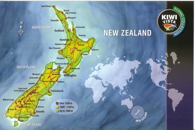006_NZ, comprising 3 principal islands, North, South and Stewart, is a land of contrasts