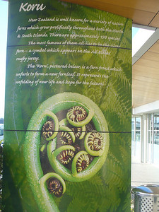 010_Auckland Airport, The Importance of the Fern in The Kanak Culture