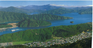 382_Picton, Malborough Sounds, Panoramic View Part 2